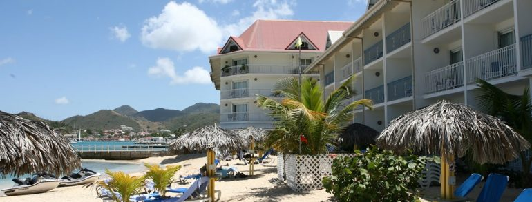 Hôtel Le Beach Plaza ****  (Saint-Martin)