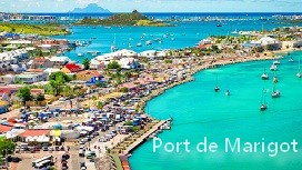 location voiture port de Marigot