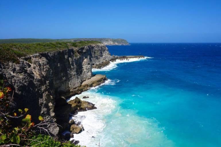 Randonnée en Guadeloupe : Trace des Falaises -Sentier des Douaniers
